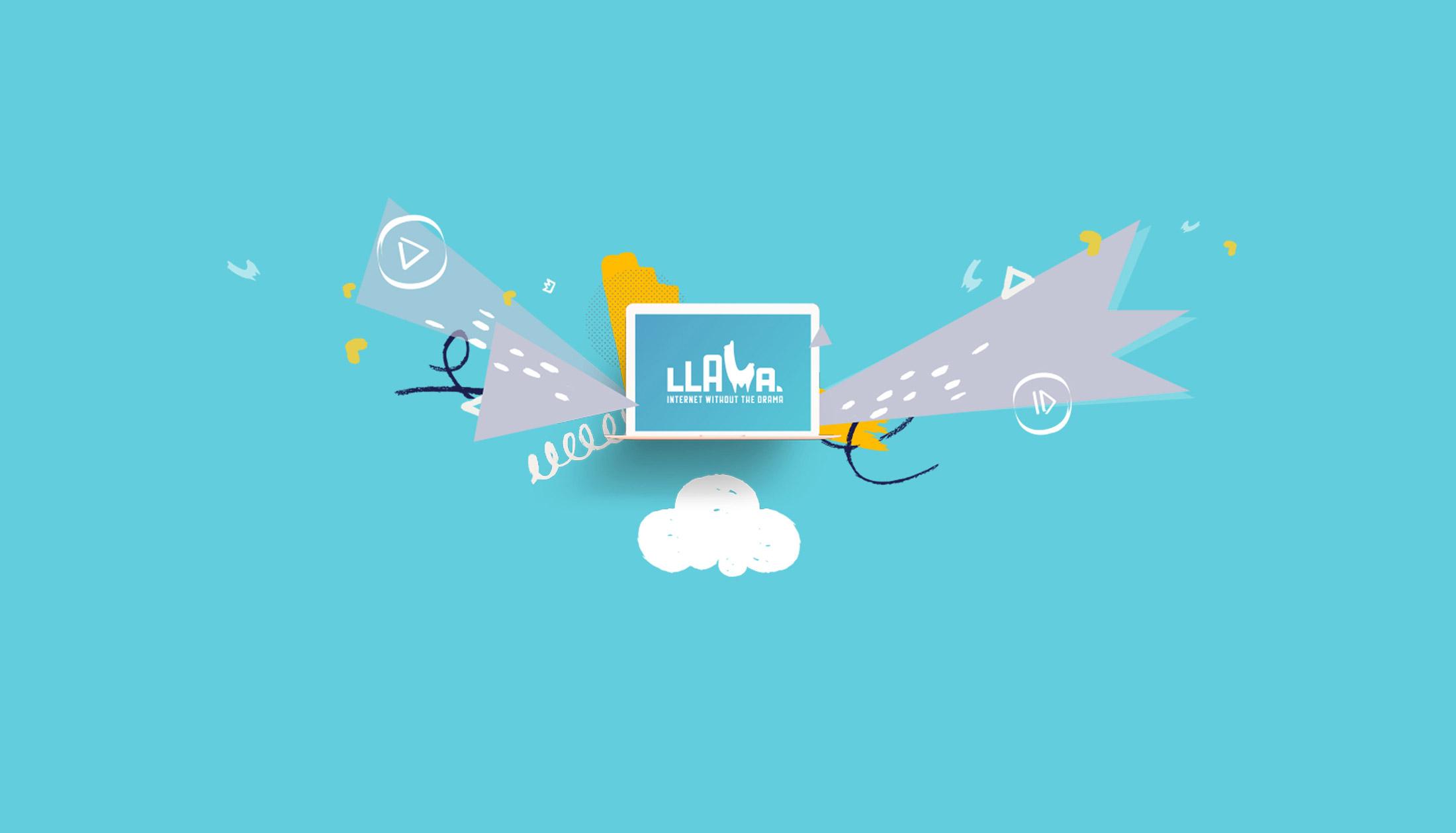 Llama internet without the drama